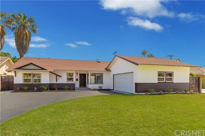 Granada Hills Single Family Home For Sale: 16354 Bermuda Street