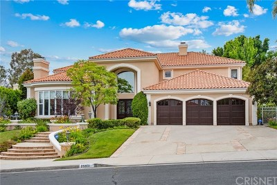 Brentwood, Calabasas, West Hills, Woodland Hills Single Family Home For Sale: 25531 Kingston Court