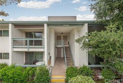 Calabasas Condo/Townhouse For Sale: 4608 Park Granada #8
