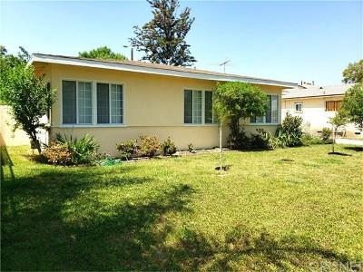 Van Nuys Single Family Home For Sale: 7509 Balboa Boulevard