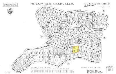 Lake Arrowhead CA Residential Lots & Land For Sale: $25,990