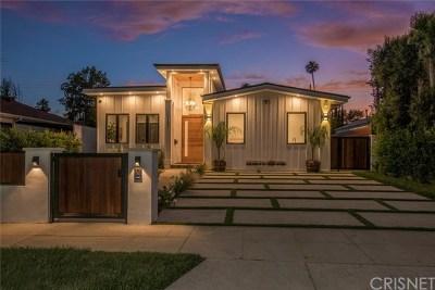 Sherman Oaks Single Family Home For Sale: 5137 Greenbush Avenue
