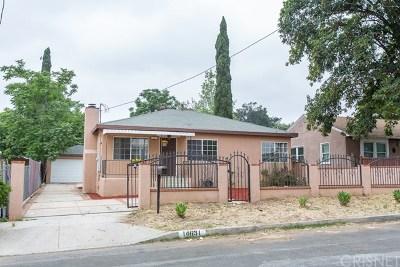 Sylmar Single Family Home For Sale: 14631 Nurmi Street