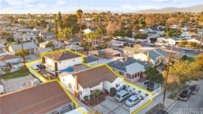 North Hollywood Multi Family Home For Sale: 7343 Tujunga Avenue