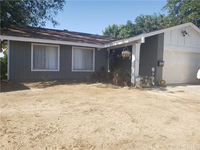 Palmdale, Lancaster, Quartz Hill, Rosamond, Pearblossom, Lake Los Angeles, Juniper Hills, Leona Valley, Lake Elizabeth, Antelope Acres, Lake Hughes, Green Valley, Llano, Littlerock Single Family Home For Sale: 429 E Avenue J7