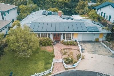 Sherman Oaks Single Family Home For Sale: 5506 Leghorn Avenue