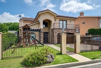Sherman Oaks Single Family Home For Sale: 13964 Morrison Street