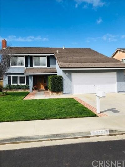 Valencia Single Family Home For Sale: 23629 Via Rana