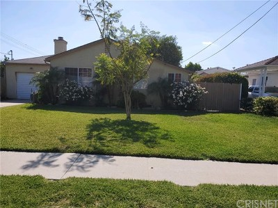 Reseda CA Single Family Home For Sale: $549,000