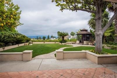 Sherman Oaks Single Family Home For Sale: 3836 Cody Road