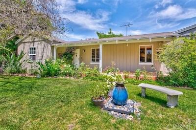 Sherman Oaks Single Family Home For Sale: 13229 Bloomfield Street