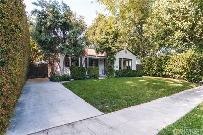 North Hollywood Single Family Home For Sale: 11523 Albers Street