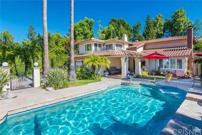 Calabasas Single Family Home For Sale: 22454 Galilee Street