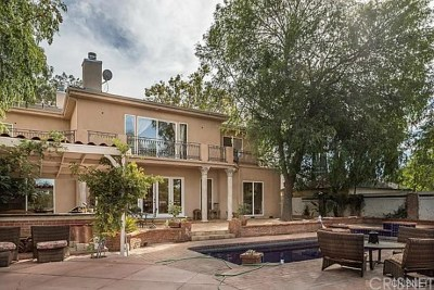 Brentwood, Calabasas, West Hills, Woodland Hills Single Family Home For Sale: 22349 Dolorosa Street