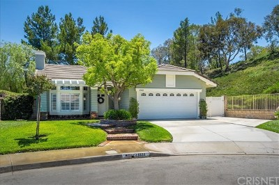 Single Family Home For Sale: 23618 Dunsmore Lane