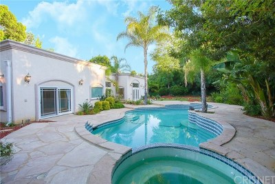 Tarzana Single Family Home For Sale: 4409 Nogales Drive