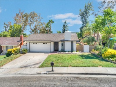 Single Family Home For Sale: 24306 Dalgo Drive
