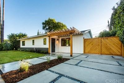 Single Family Home For Sale: 5447 Halbrent Avenue