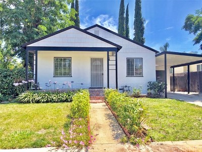 Single Family Home For Sale: 17320 Tiara Street