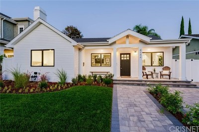 Single Family Home For Sale: 4544 Van Noord Avenue