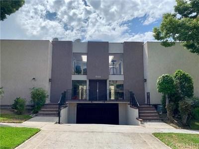 Burbank Condo/Townhouse For Sale: 444 E Verdugo Avenue #9