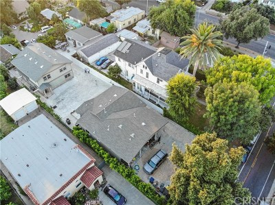 Pasadena Multi Family Home For Sale: 1309 N Marengo Avenue