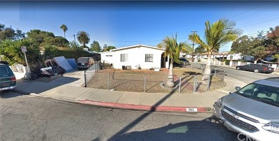 Torrance Single Family Home For Sale: 803 Belson Street