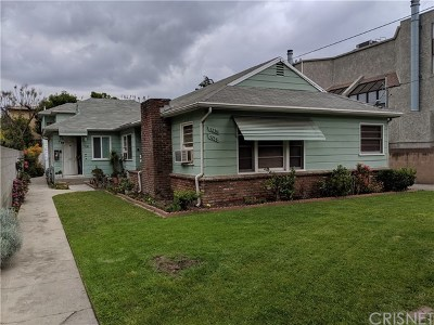 North Hollywood Multi Family Home For Sale: 5236 Bellingham Avenue