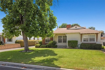 West Covina Single Family Home Active Under Contract: 407 S Fernwood Street