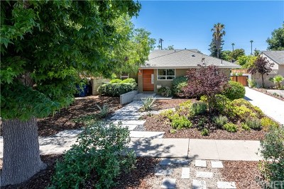 Sherman Oaks Single Family Home Active Under Contract: 5523 Willis Avenue