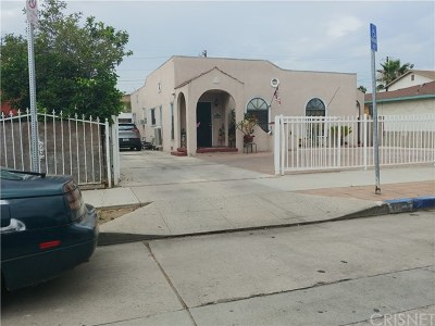 North Hollywood Multi Family Home For Sale: 11310 Emelita Street