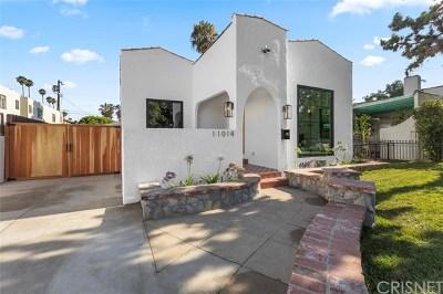 Toluca Lake Single Family Home For Sale: 11014 Blix Street