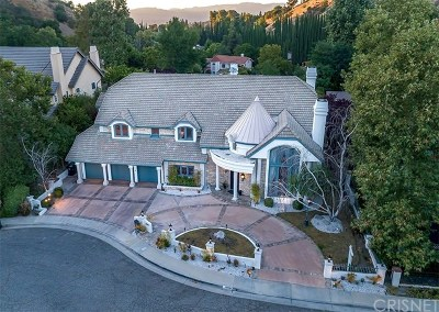 Brentwood, Calabasas, West Hills, Woodland Hills Single Family Home For Sale: 20315 Howard Court