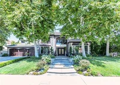 Brentwood, Calabasas, West Hills, Woodland Hills Single Family Home For Sale: 5466 Collingwood Circle