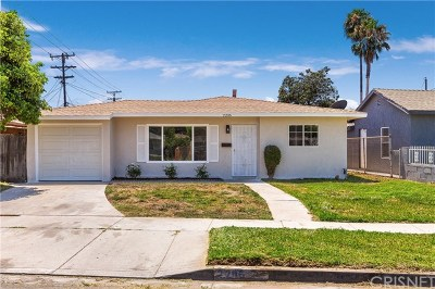 Compton Single Family Home Active Under Contract: 2206 E McMillan Street