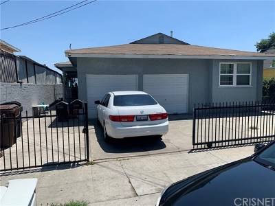 Compton Multi Family Home For Sale: 1006 N Spring Avenue