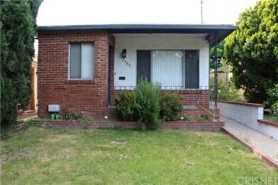 Burbank Single Family Home For Sale: 2405 W Chandler Boulevard