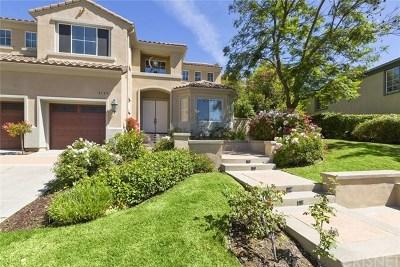 Topanga Single Family Home For Sale: 3355 Van Allen Place