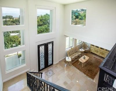 Sherman Oaks Single Family Home For Sale: 3680 Dixie Canyon Avenue