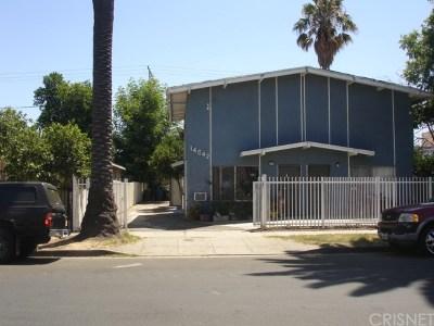 Van Nuys Multi Family Home For Sale: 14642 Calvert Street