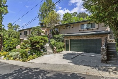 Studio City Single Family Home For Sale: 11821 Laurel Hills Road