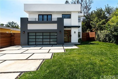 Sherman Oaks Single Family Home For Sale: 4719 Atoll Avenue