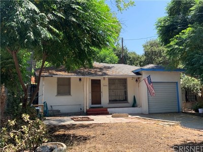 Tujunga Single Family Home Active Under Contract: 10026 Breidt Avenue