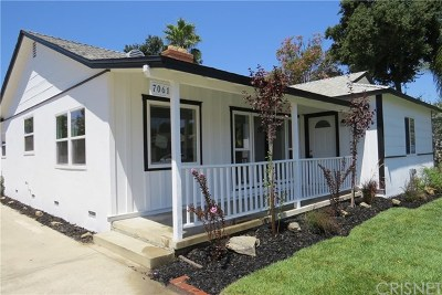 Van Nuys Single Family Home For Sale: 7061 Willis Avenue