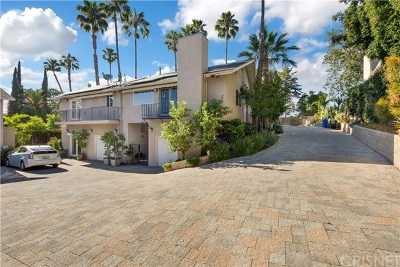Toluca Lake Single Family Home For Sale: 10758 Aqua Vista Street