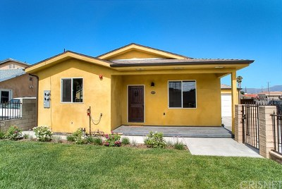 Sun Valley Single Family Home For Sale: 10845 Vinedale Street
