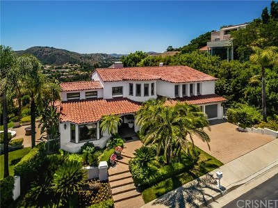 Brentwood, Calabasas, West Hills, Woodland Hills Single Family Home For Sale: 24608 Cordillera Drive