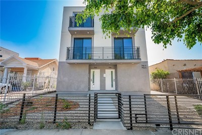 Hollywood Multi Family Home For Sale: 746 N Ridgewood Place