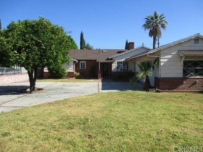 Granada Hills CA Single Family Home For Auction: $609,900