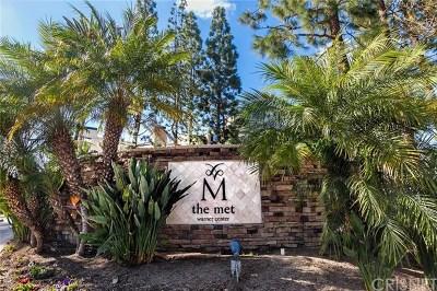 Woodland Hills Condo/Townhouse For Sale: 21520 Burbank Boulevard #308